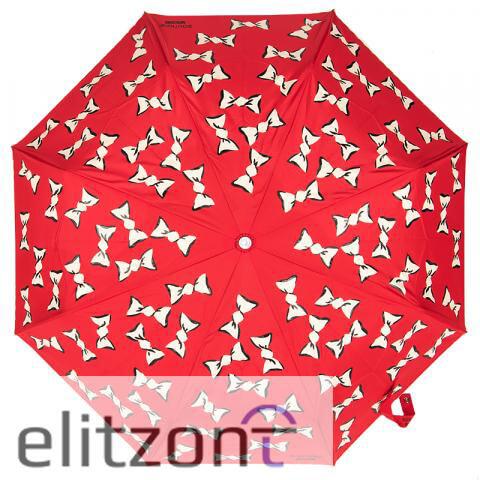 красивый красный зонт, женский, складной