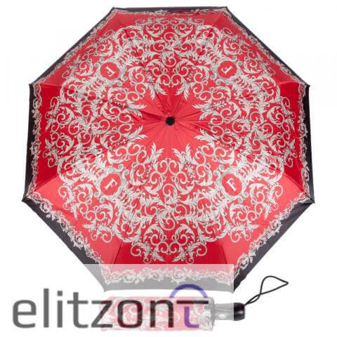 Классический складной женский зонт ферре, итальянский зонт, полный автомат, прочная конструкция, стильный подарок для женщины