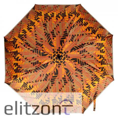 Складной женский зонт Ferre, яркий, летний, полный автомат, прочный, оригинальный подарок