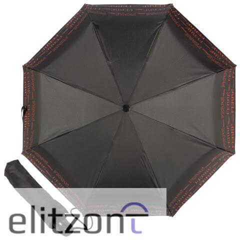 Складной женский зонт Ferre, зонт с символикой бренда, оригинальный подарок для женщины, полный автомат, удобный механизм, надежная конструкция