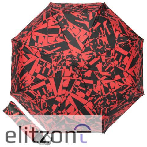 Фирменный женский Ferre, оригинальный подарок для девушки, складной брендовый зонт, полный автомат, легкий