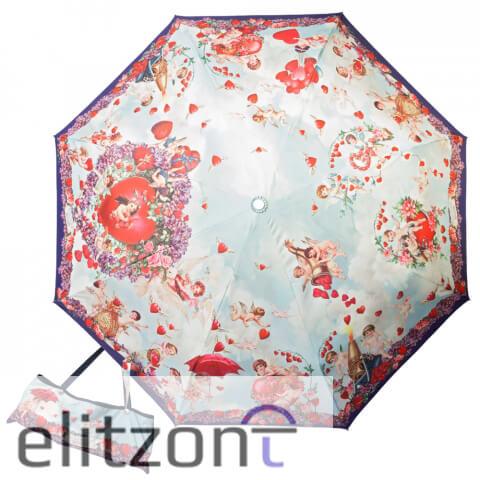 женские зонтики, автомат, стильный