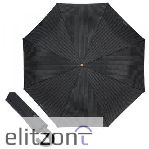Зонт складной Moschino 8509-TOPLESSA Pinstripes