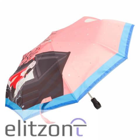оригинальный зонт москино, складной