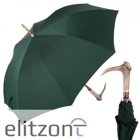 Зонт-трость Pasotti Cervo Punto Verde