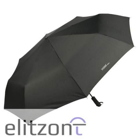 Купить складной мужской зонт ферре, полный автомат, прочный, однотонный, с большим куполом