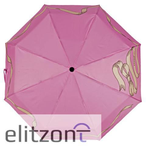 Элитный подарок девушке, складной женский зонт Ferre, стильный, яркий, оригинальный, в официальном магазине элитзонт
