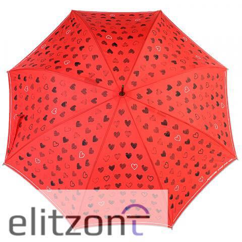 зонты трости женские, полуавтомат