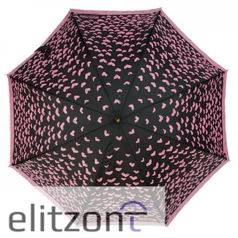 женский зонт трость, надежный, стильный