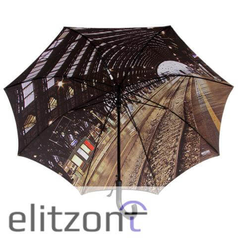 Зонт-трость Moschino 481-D67 Auto A Station