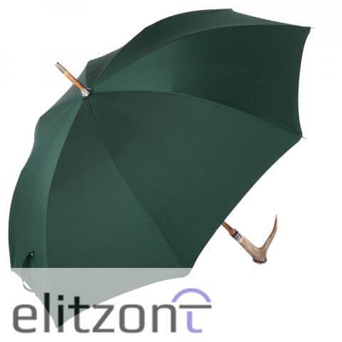Зонт-трость Pasotti Cervo Punto Verde сбоку
