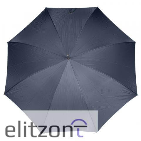 Зонт-трость Pasotti Leone Silver StripesS Dark blu сверху