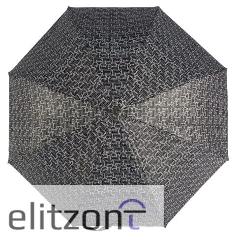 Мужской зонт - трость, полуавтомат, большой купол, прочный, надежная конструкция