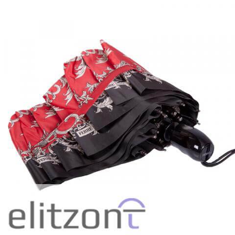 Элитный подарок девушке, складной. классический зонт Ferre, яркий, стильный, автоматический, прочный, купить в официальном магазине в Москве