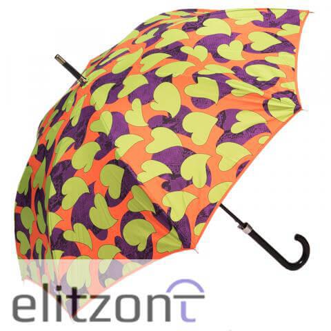 яркие зонты трости, женские, летний