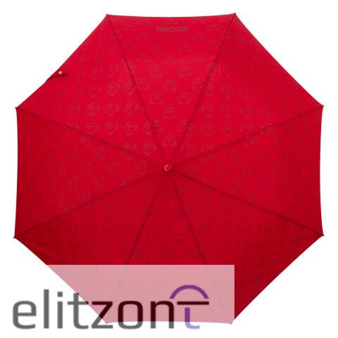 красные женские зонты