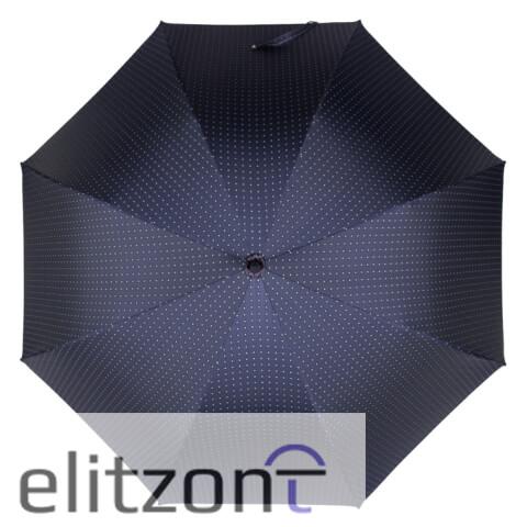 Зонт-трость Pasotti Esperto Classic Dandy Blu сверху