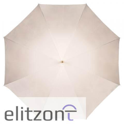 Зонт-трость Pasotti Ivory Daizy Pelle сверху