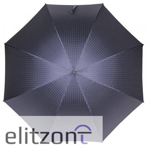Зонт-трость Pasotti Mocasin Dandy Blu сверху