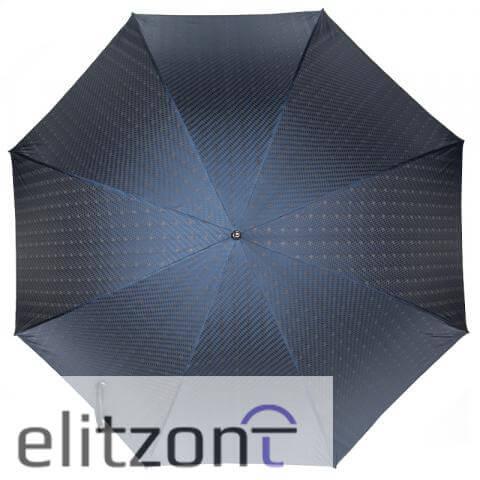 Зонт-трость Pasotti Mocasin Rombo Blu