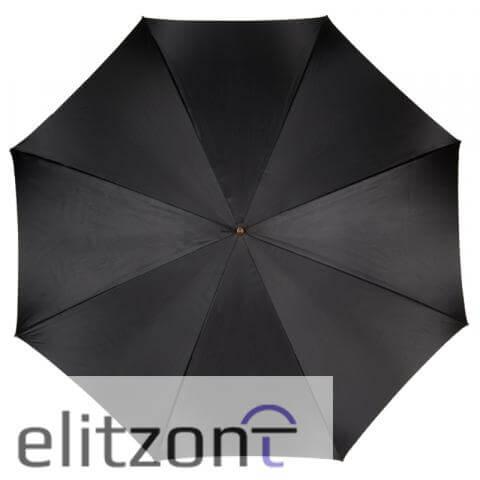 Зонт-трость Pasotti Nero Georgin Rosa Oro сверху