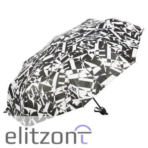 Уникальный подарок для девушки брендовый зонт Ferre, складной автоматический, лёгкий