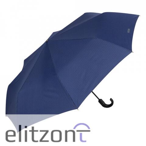надежный мужской зонт, однотонный