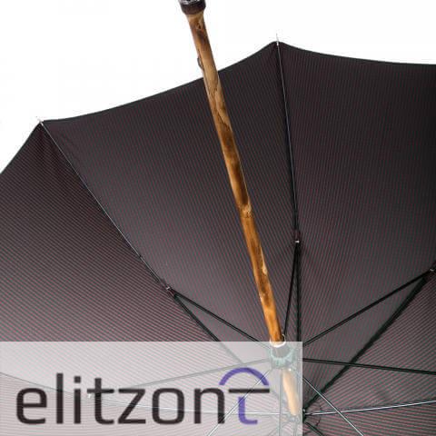Зонт-трость Pasotti Cervo Punto Verde снизу
