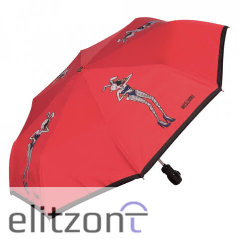 красный зонт, стильный, фирменный