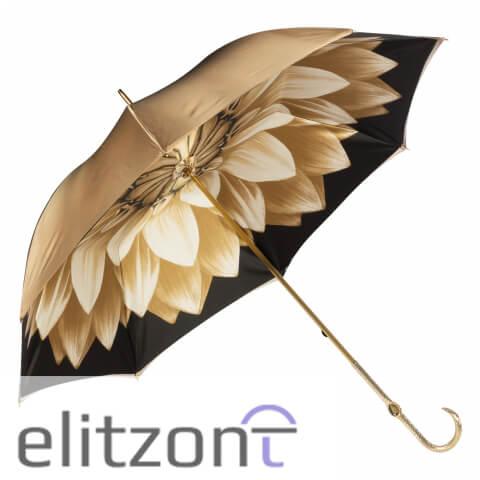Зонт-трость Pasotti Bеcolore Georgin Beige Oro