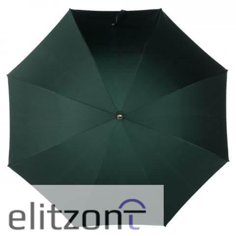 Зонт-трость Pasotti Cervo Punto Verde сверху