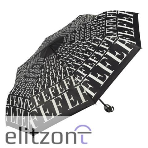 Элитный подарок складной зонт Ferre, женский, полный автомат, легкий, система антиветер