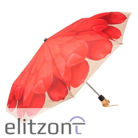 Зонт складной Pasotti Auto Georgin Coral Lux