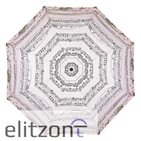 Зонт складной EMME M511-OC Music & Roses Pink
