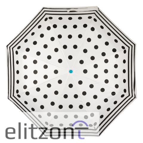 Зонт складной M&P C58215 Dots White
