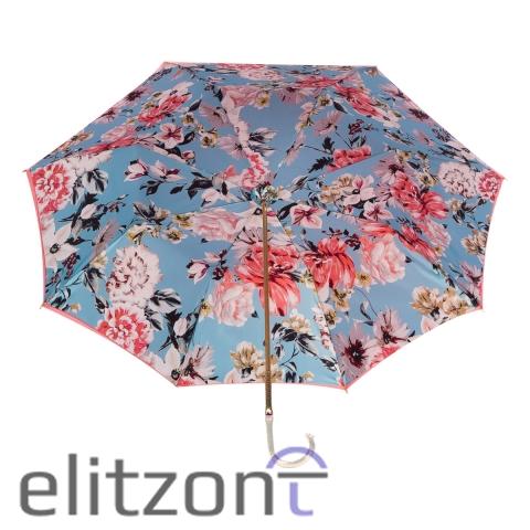 Зонт-трость Pasotti Magenta Bouquet Oro