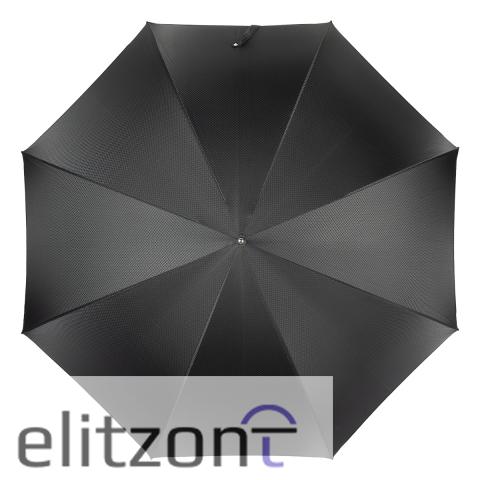 Зонт-трость Pasotti Greyhound Silver Grono Black