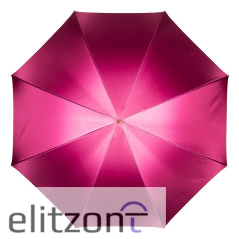 Зонт-трость Pasotti Becolore Fuxia Parati Plastica