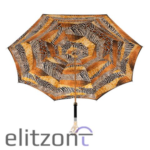 Зонт-трость Pasotti Tigre Black Lux