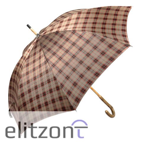 Зонт-трость Pasotti Bark Ash Diamond Red