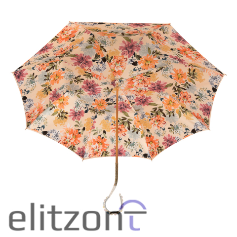Зонт-трость Pasotti Pesco Flox Oro Multi Stones