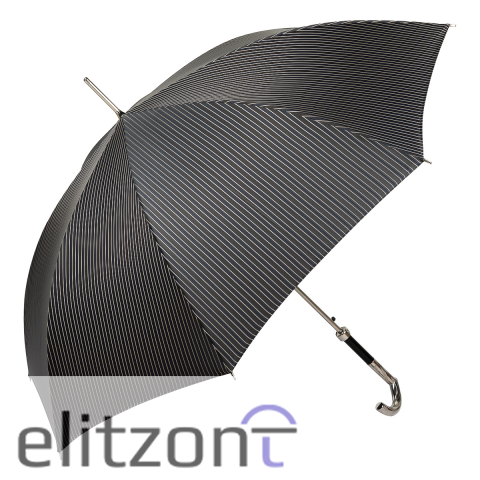 Зонт-трость Pasotti Hock Double Stripes Blu