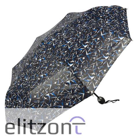 Оригинальный подарок для девушки, складной зонтик Baldinini, прочный, легкий, компактный