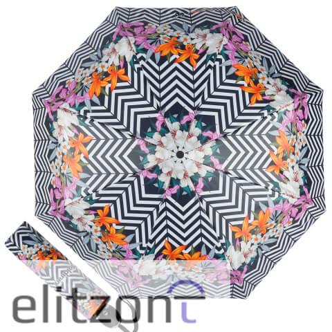 Стильный женский зонт Baldinini, полный автомат, брендовый аксессуар, оригинальный подарок для девушки
