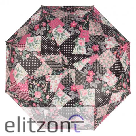 Стильный яркий складной женский зонт, новая коллекция Baldinini, оригинальные зонты в подарок, купить в Москве