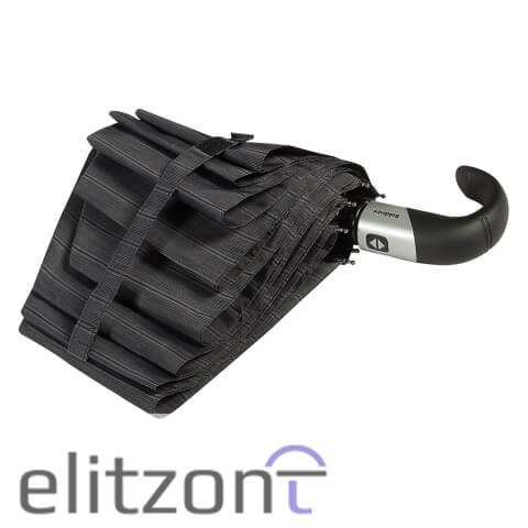Оригинальный подарок, складной зонт Baldinini, мужской, автоматический, прочный надежный, система антиветер, в фирменных магазинах в Москве и Спб
