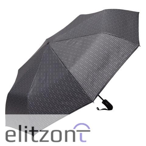 Качественный мужской зонт Ferre, складной, полный автомат, надежная конструкция