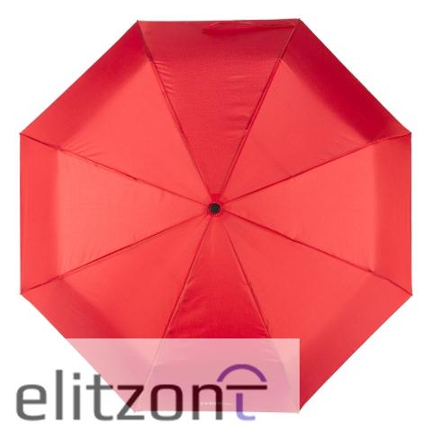 красный зонт -женский -автомат