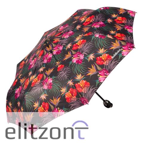 Легкий складной зонт Baldinini, женский, автоматический, компактный, новая коллекция, купить оригинальный зонт в Москве