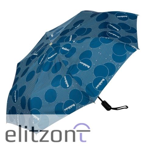 Складной женский зонт Baldinini, зонт из новой коллекции, полный автомат, система антиветер, прочный, легкий